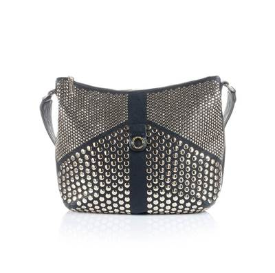 Picture of BORSA GREY CON BORCHIE MANGANO