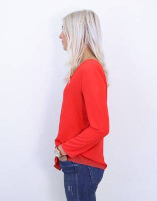 Picture of BLUSA NOVA SOLID LUX DEEP 3/4 ONLY