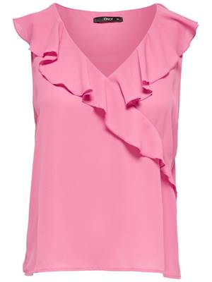 Picture of TOP INTU SCOLLO V FRILL ONLY