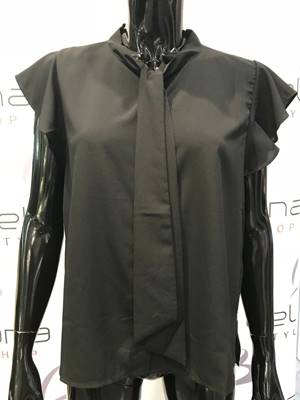Picture of BLUSA ELENA M/C COLLO FIOCCO ONLY