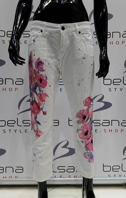 Picture of JEANS MELLY CON STAMPE BULL FERMO Up*Jeans