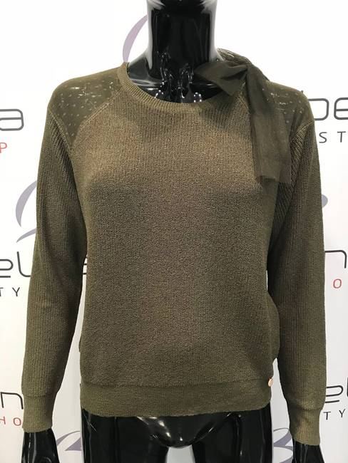 Picture of PULLOVER BIANKA C/ FIOCCO TULLE ONLY