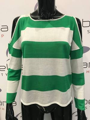 Picture of PULLOVER JOSEPHINE RIGHE M/L OBLO' ONLY