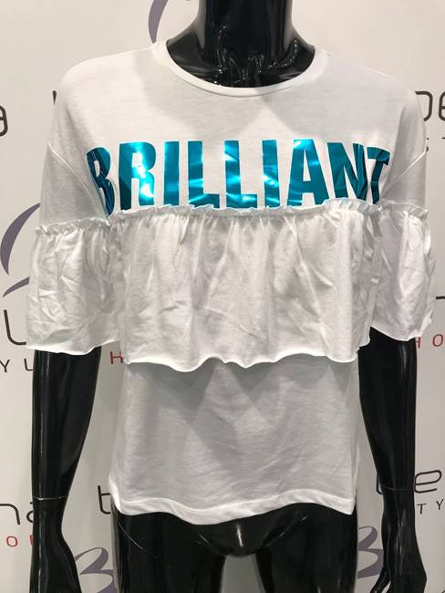 Immagine di T-SHIRT BRILLIANT C/ ROUCHES ONLY