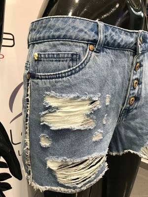 Picture of SHORT PACY DENIM STRAPPI ONLY