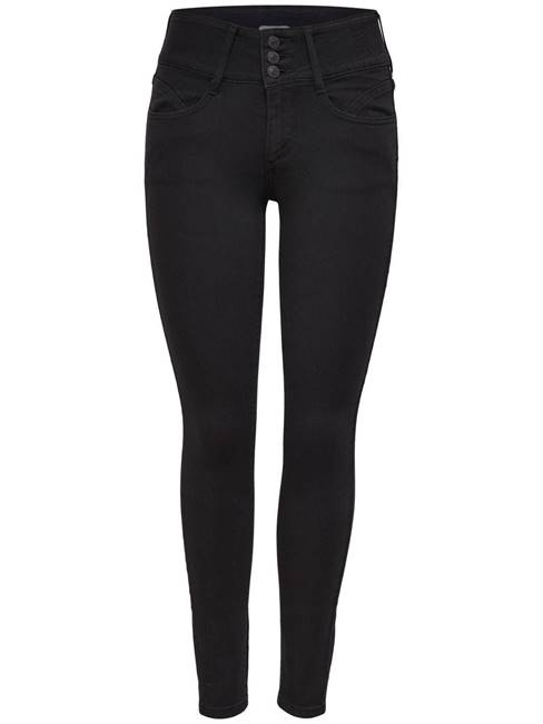 Immagine di JEANS ANNA VITA ALTA CRY6060 BLACK ONLY