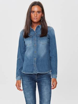 Picture of CAMICIA KAYLIN DENIM M/L RAW ONLY