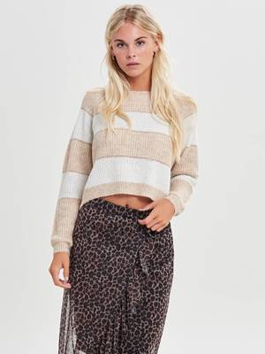 Picture of PULLOVER RIGHE/LUREX ONLY