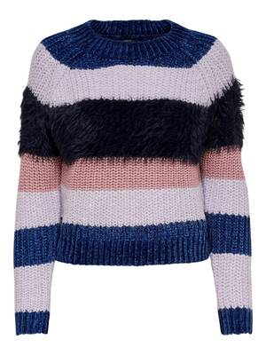 Picture of PULLOVER JOELLE RIGHE CINIGLIA/ LUREX ONLY