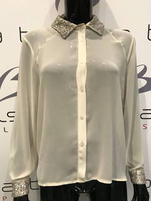 Immagine di CAMICIA M/L COLLETTO/POLSINI  PAILL. DIXIE
