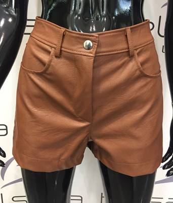 Picture of SHORTS ECOPELLE TASCHE RETRO VICOLO