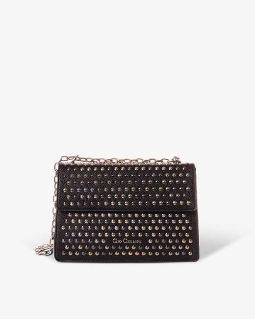 Picture of BORSA RIGIDA ALL STUDS GIO CELLINI