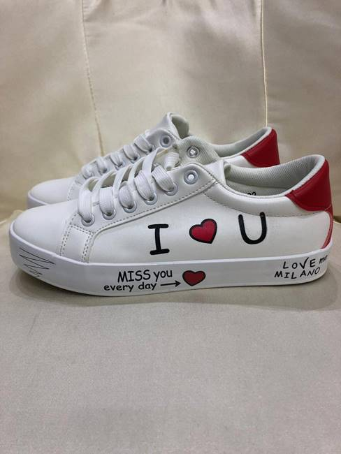 "Picture of SNEAKERS ""I LOVE YOU"" MYLIFE"