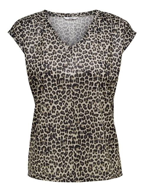 Picture of T-SHIRT LEOPARD  LUREX ONLY