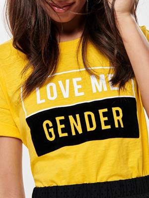 Immagine di T-SHIRT LOVE ME GENDER ONLY
