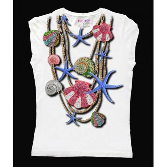Picture of T-SHIRT COLLANA MARE TIP&TOP