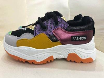 "Immagine di SNEAKERS ""FASHION"" INSERTI VIOLA/SENAPE/NERO MYLIFE"