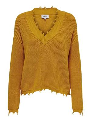 Picture of PULLOVER NECK SCOLLO V SFRANGIATO ONLY