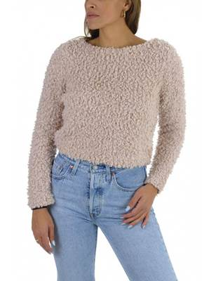 Picture of PULLOVER MARLA CORTO EFFETTO BUCLE' ONLY