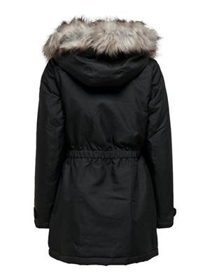 Picture of PARKA IRIS C/ZIP+BOTTONI CAPPUCCIO PELO ONLY