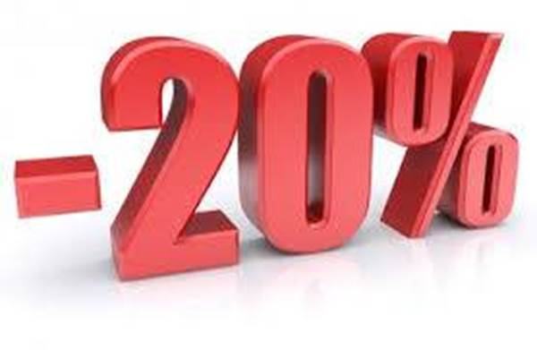 Picture for category OUTLET >> Sconto al 20%