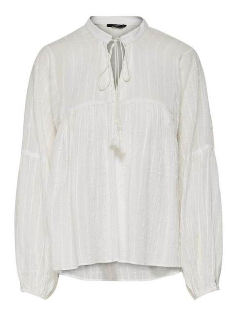 Picture of BLUSA NEW ELISA V C/NAPPINE MANICHE AMPIE ONLY