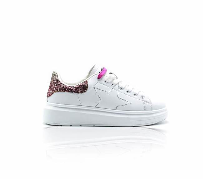 Picture of SNEAKERS PARA ALTA IN ECO LEATHER C/GLITTER  SHOP*ART
