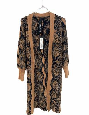 Picture of CARDIGAN LUNGO FANTASIA ANIMALIER REVISE