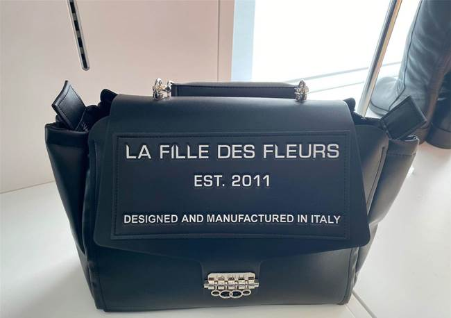 Immagine di BORSA FULVIA FORTUNA BLACK LABEL LA FILLE DES FLEURS