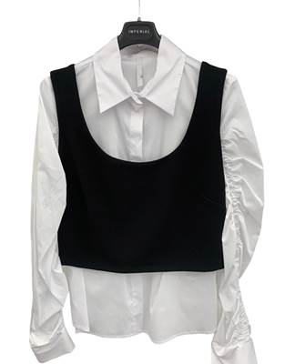 Picture of CAMICIA ARRICCIO MANICHE+TOP STACCABILE IMPERIAL