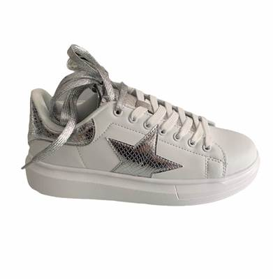 Picture of SNEAKERS ECO PARA ALTA DETT. SILVER SHOP*ART